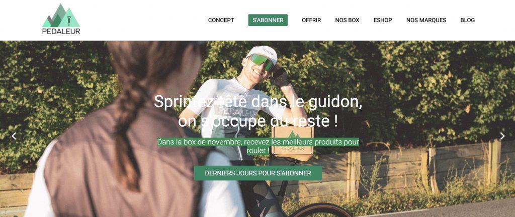 pedaleur box sport
