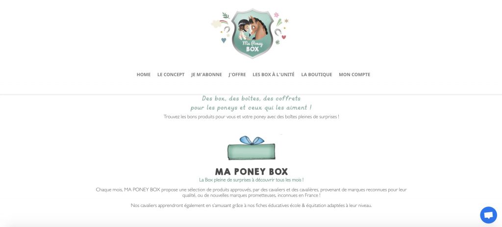 ma poney box box sport