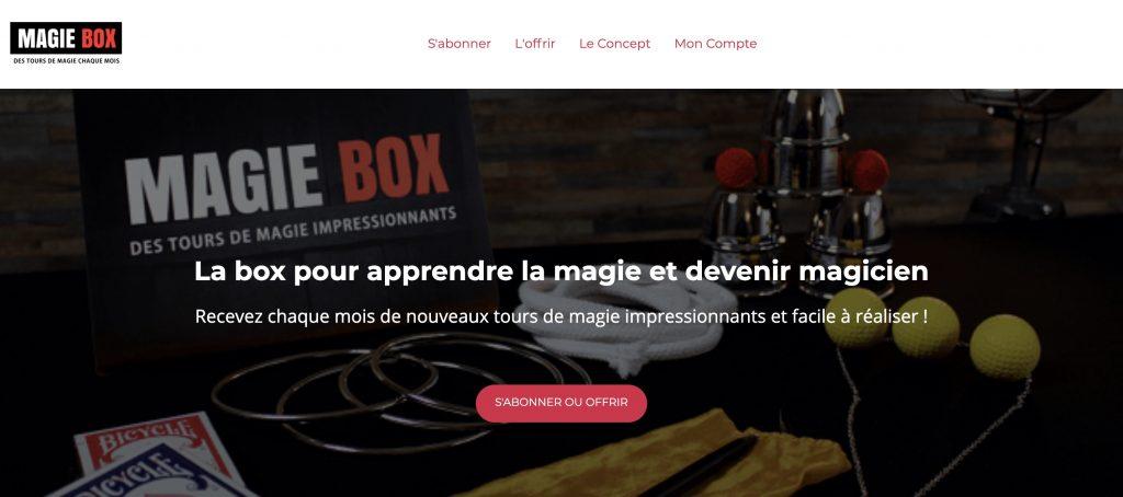 magie box ado