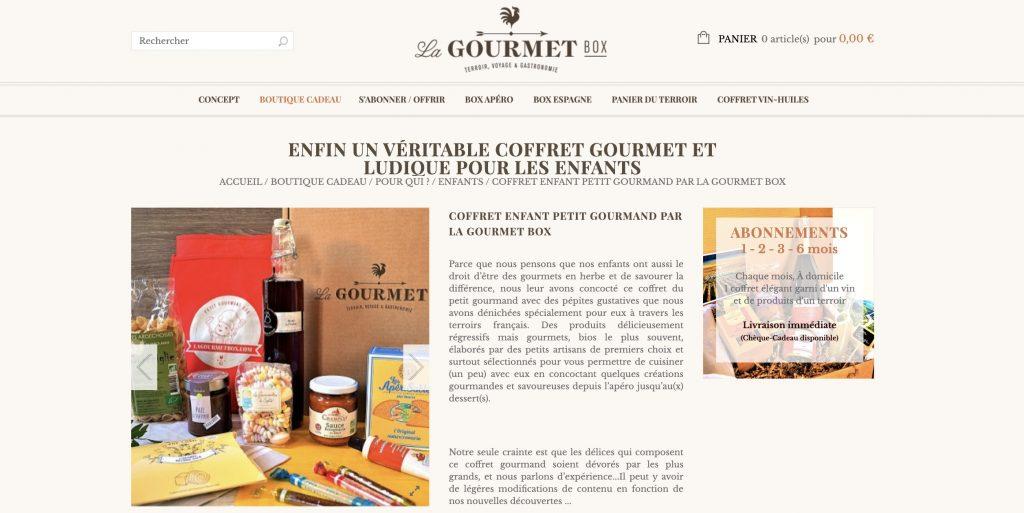 gourmet box ado