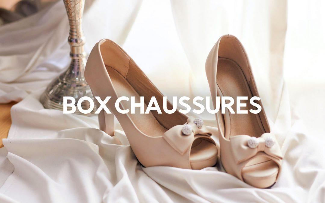 box chaussures femme homme enfant