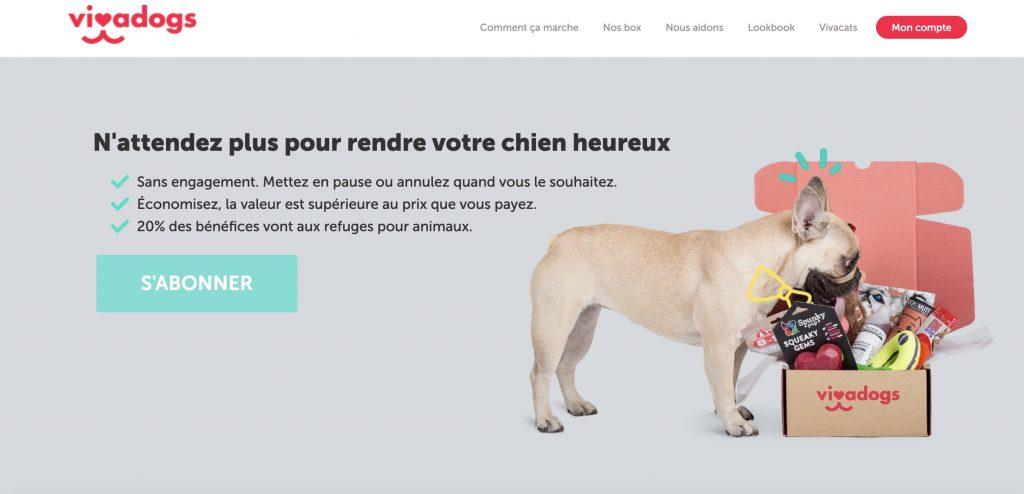 vivadogs box chien mensuelle