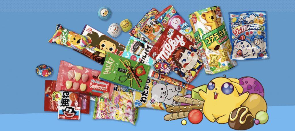 zenpop box mensuelle bonbon