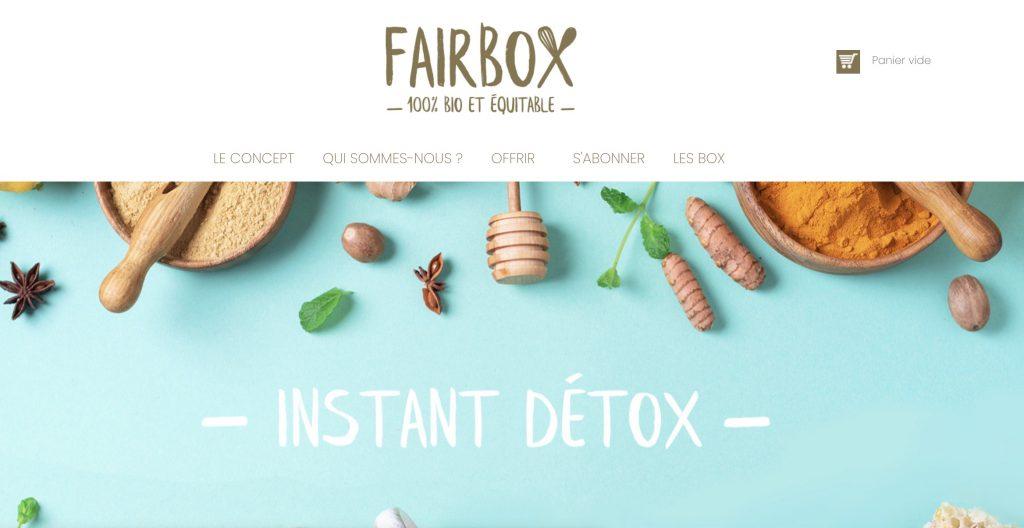 box gastronomique instant detox