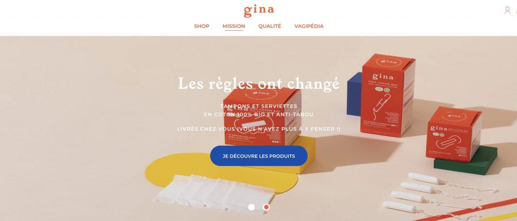 gina box