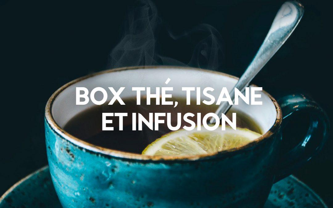 Le top 8 des box à thé, tisane et infusion