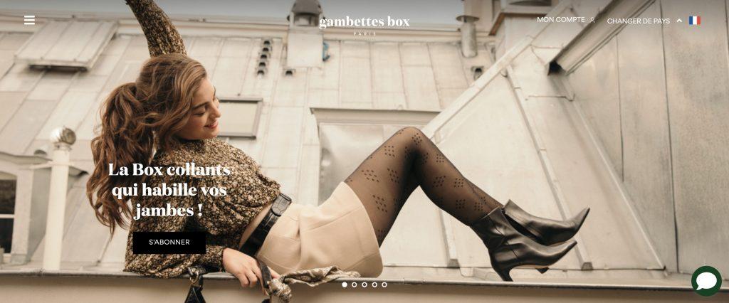box collants gambette box