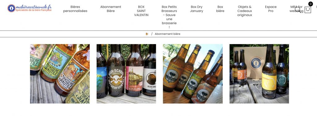 box biere ma biere artisanale