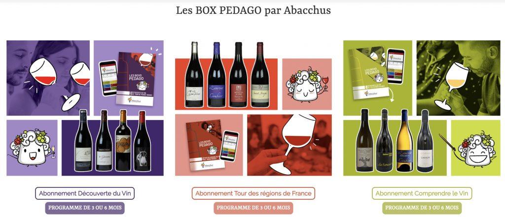 box de vins abacchus