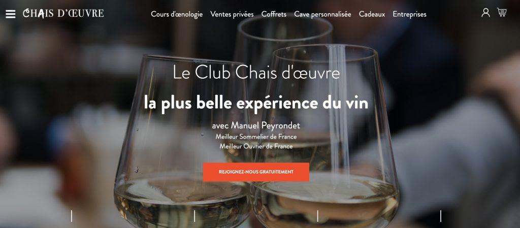 box vin chais d'oeuvre
