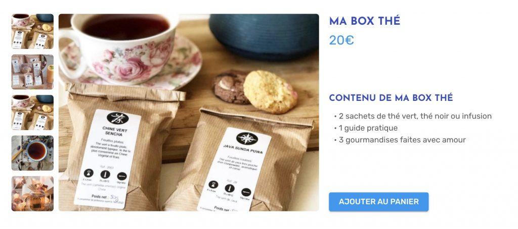 box thé ma box thé