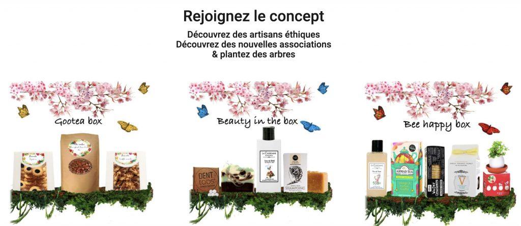 box thé gootea box