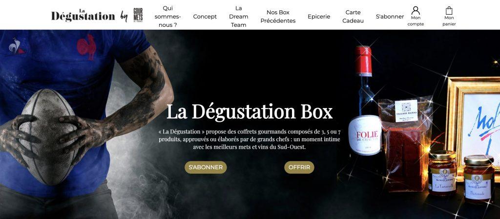 la degustation box apero