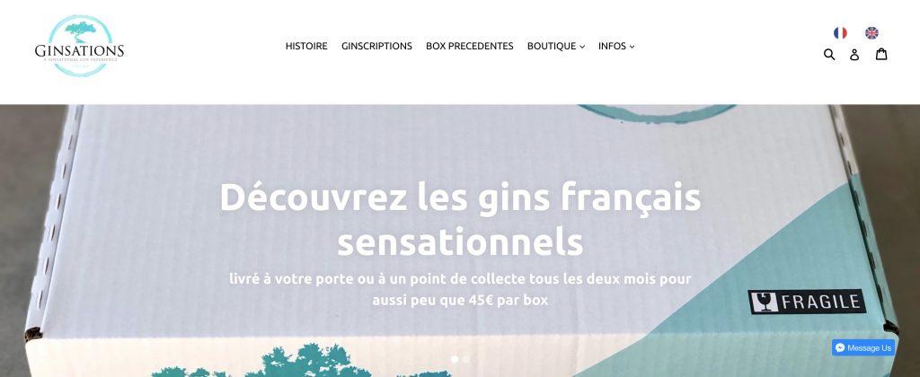 box gin ginsations