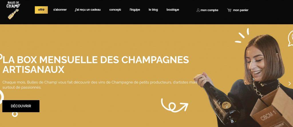 box apero champagne bulles de champ
