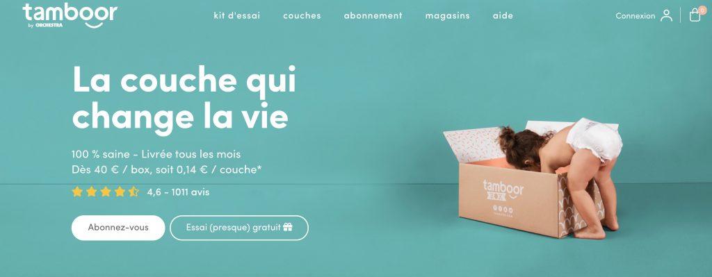 box couches tamboor