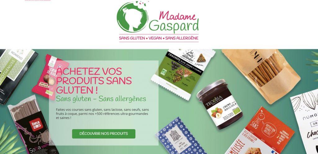 box madame gaspart sans gluten vegan