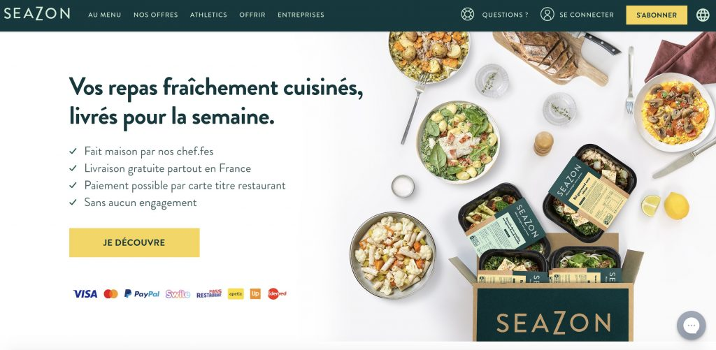 box cuisine seazon