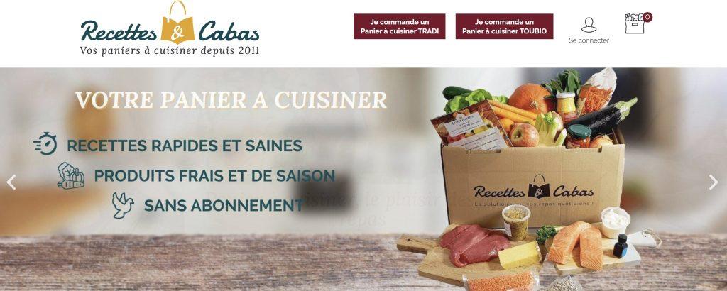 box cuisine recettes cabas