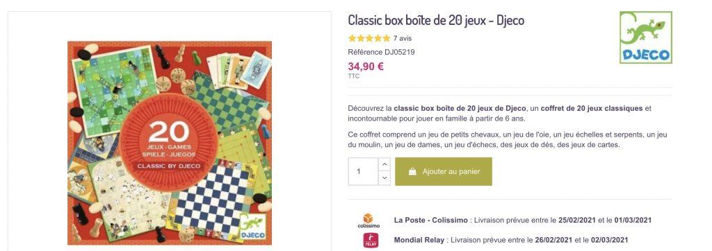 box jeux djeco