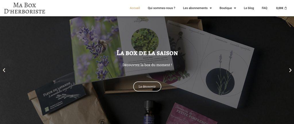 box diy ma box d'herboriste