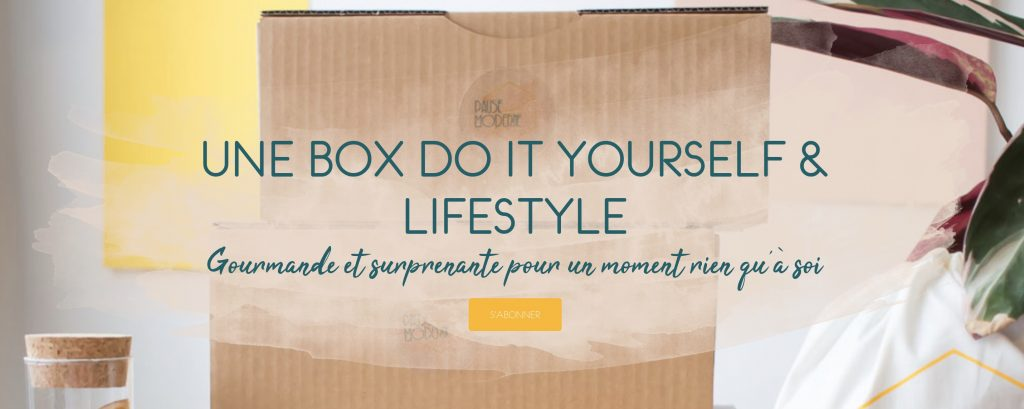 box diy pause moderne
