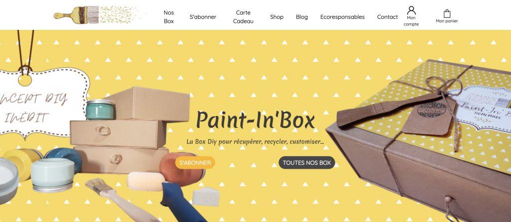 box diy paint in box