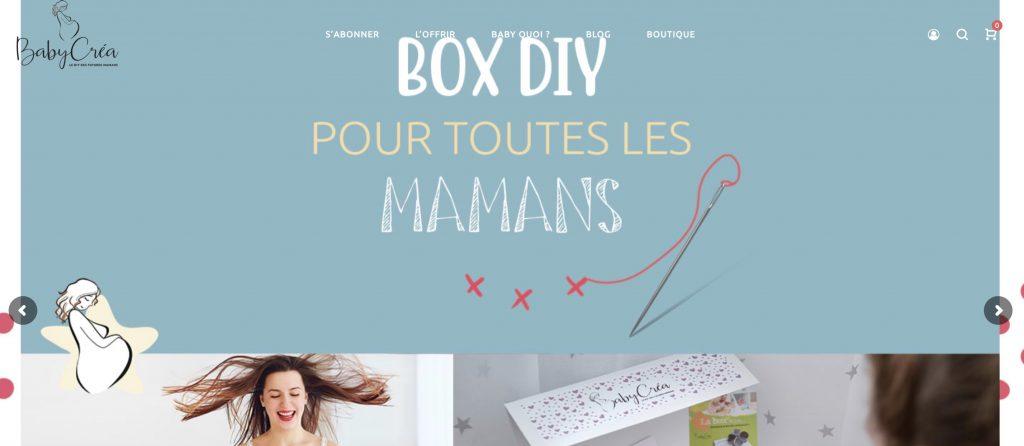 box diy baby crea