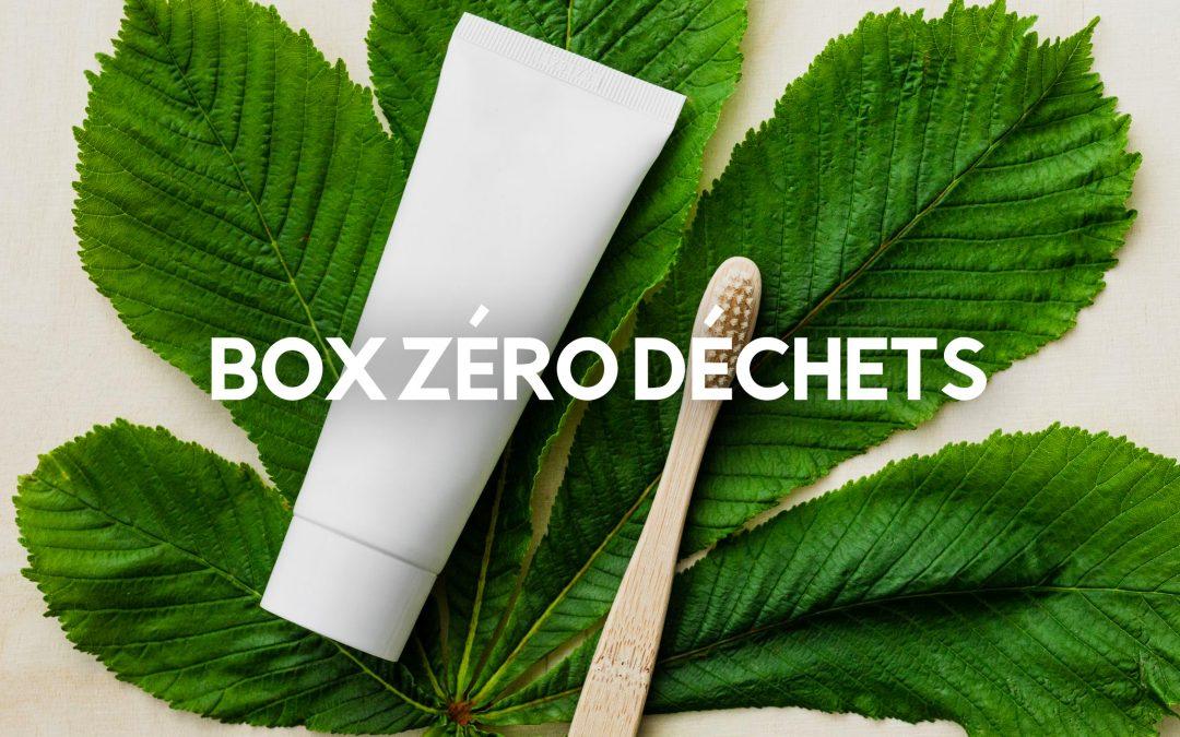 Le top 5 des box zéro déchet pour les écolos