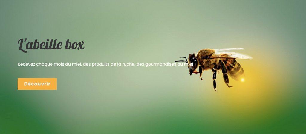box miel abeillebox