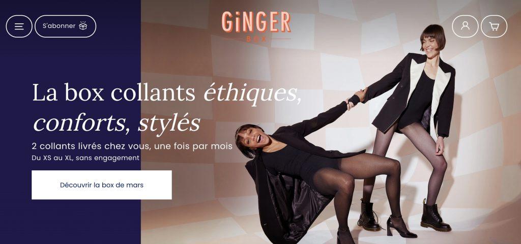 ginger box collants