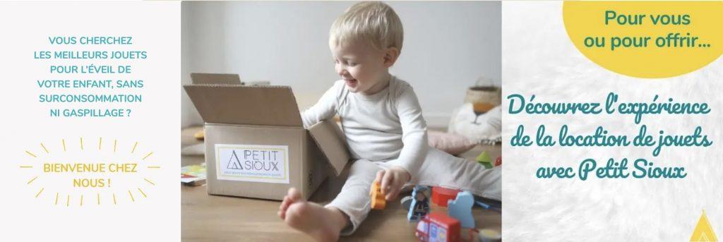 box petit sioux enfant
