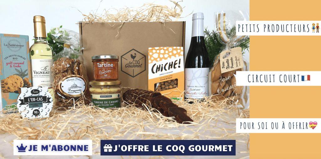box le coq gourmet