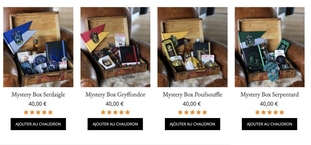 box mystery