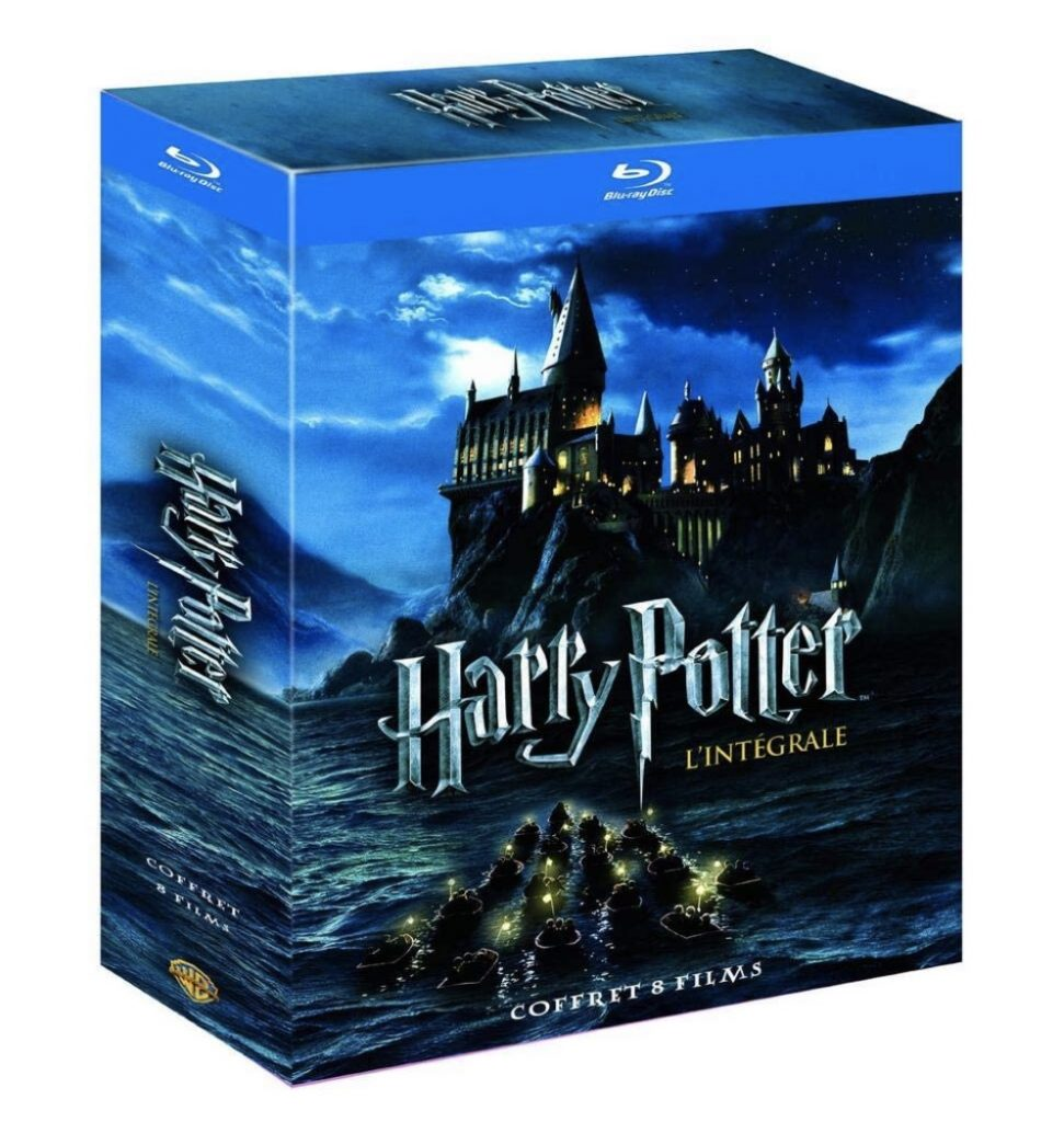 Box harry potter integrale films