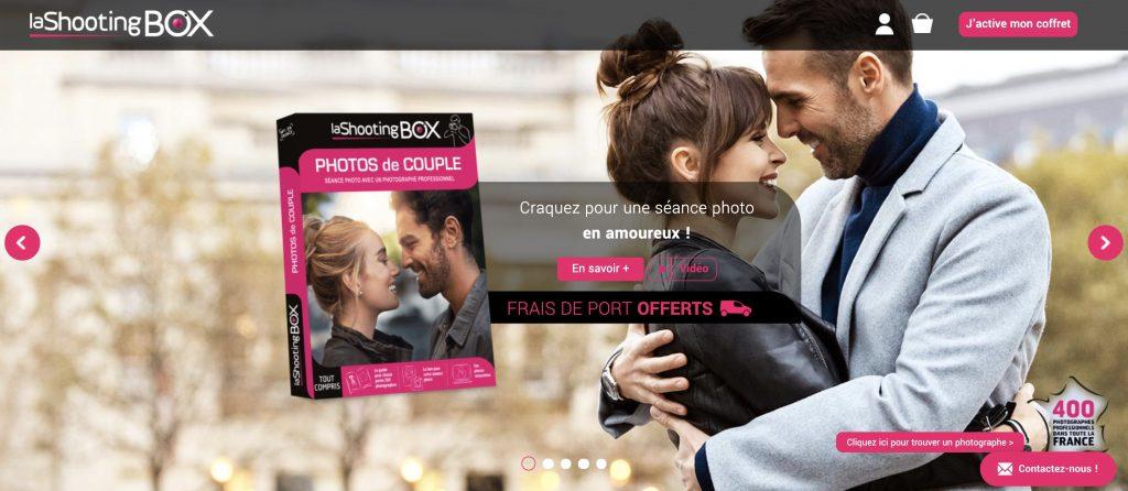 shooting box couple