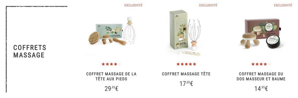box massage natures et découvertes