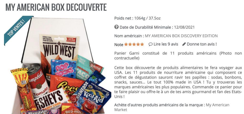 my american market box americaine