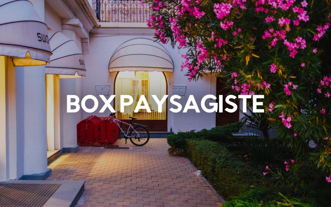 box paysagiste