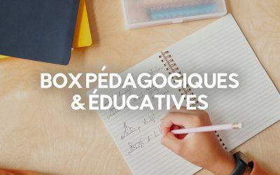 Le Top 25 des Box Pédagogiques, Éducatives et Créatives