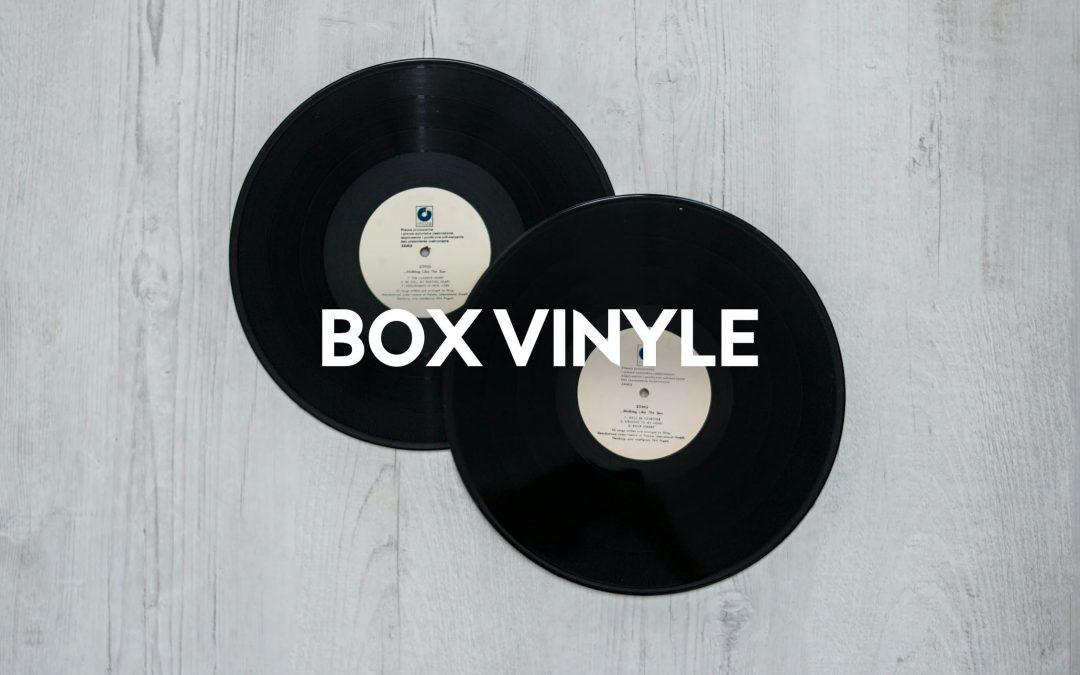 Le Top 7 des Box Vinyle (avec ou sans abonnement)
