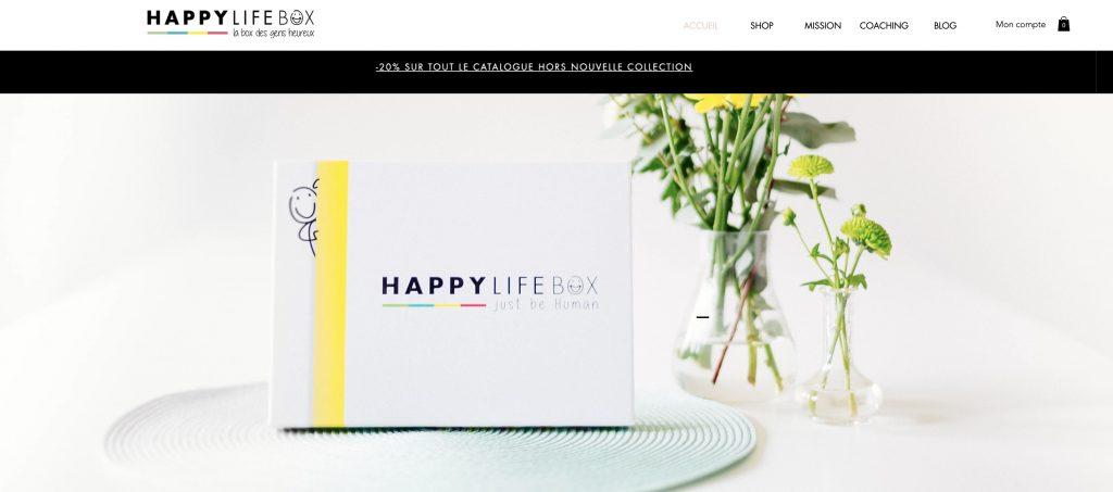 happy life box developpement personnel