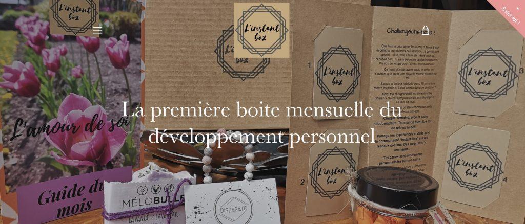 l'instant box spirituelle developpement personnel