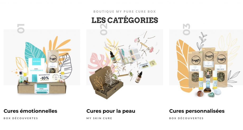 my pure cure box developpement personnel