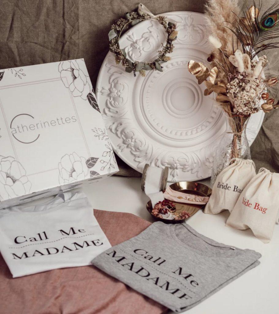 box mariage catherinettes future mariée