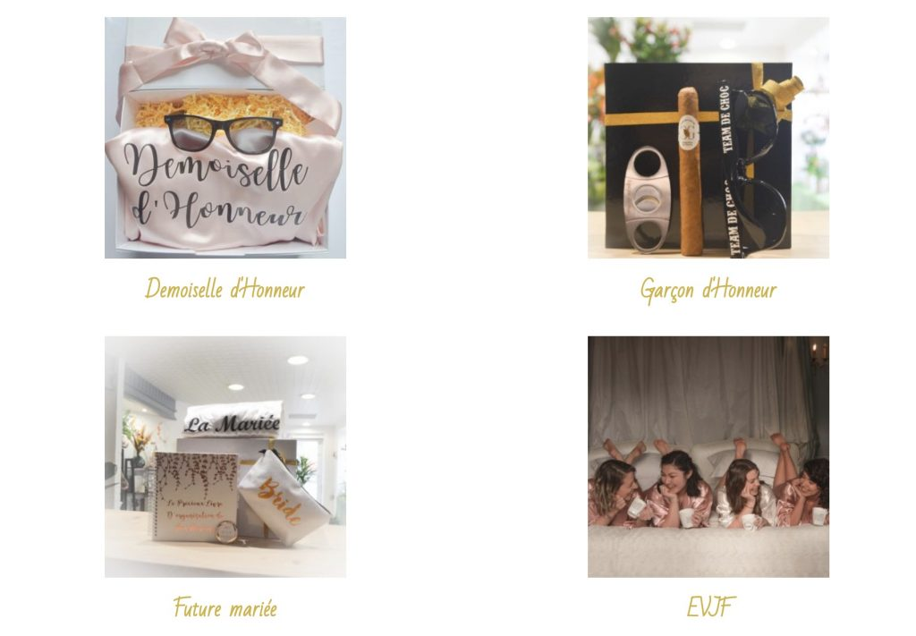 cadeau box mariage