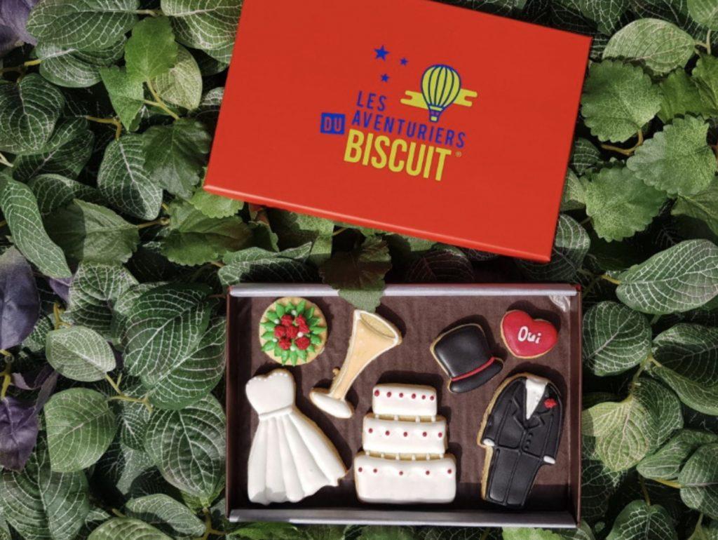 box mariage gateaux biscuits personnalises