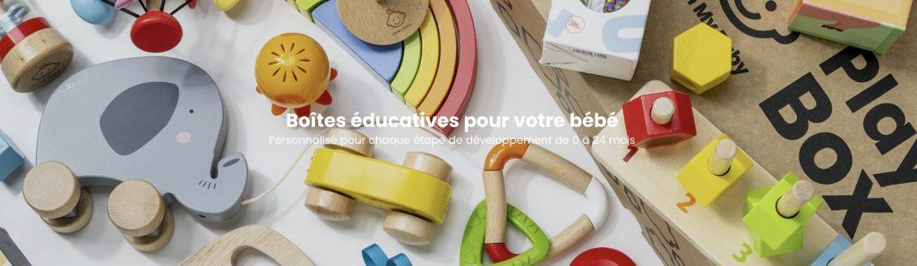 box jouets bebe educatifs