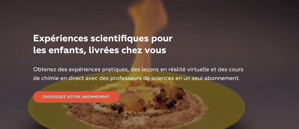 mel science box experience scientifiques