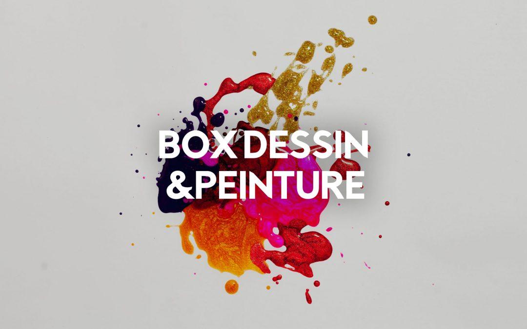 box dessin peinture